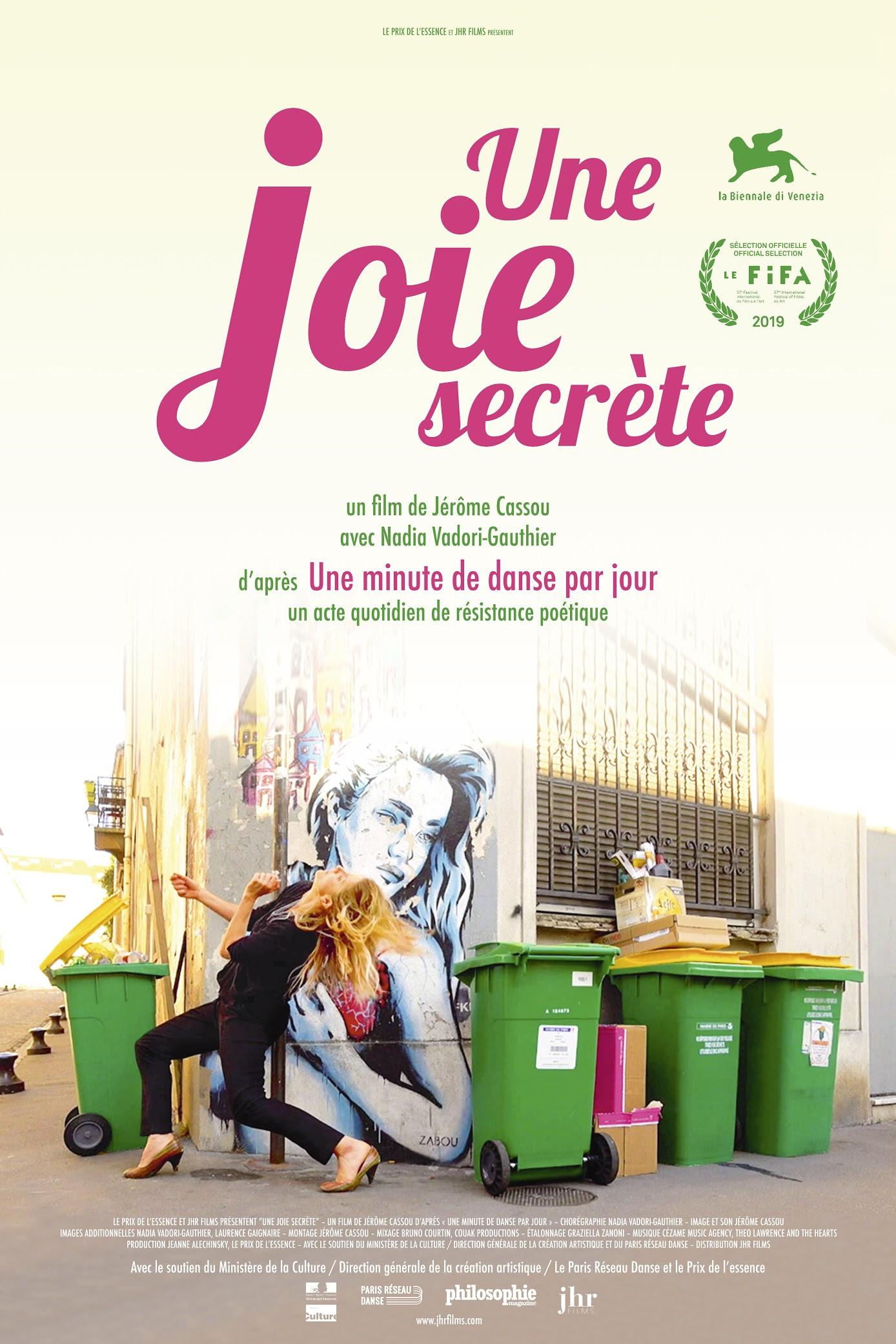 locandina une Joie secrete
